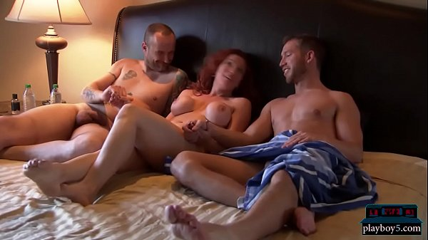 Amateur First Threesome